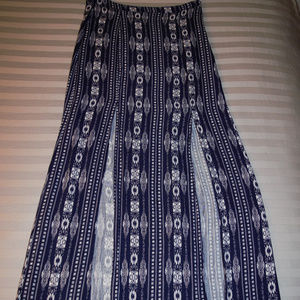 Forever 21 Maxi skirt with double slits